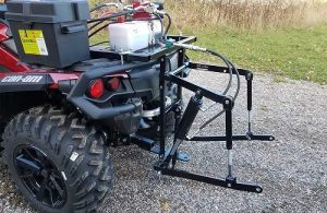 3 Point Hydraulic Hitch With Attachments for my ATV