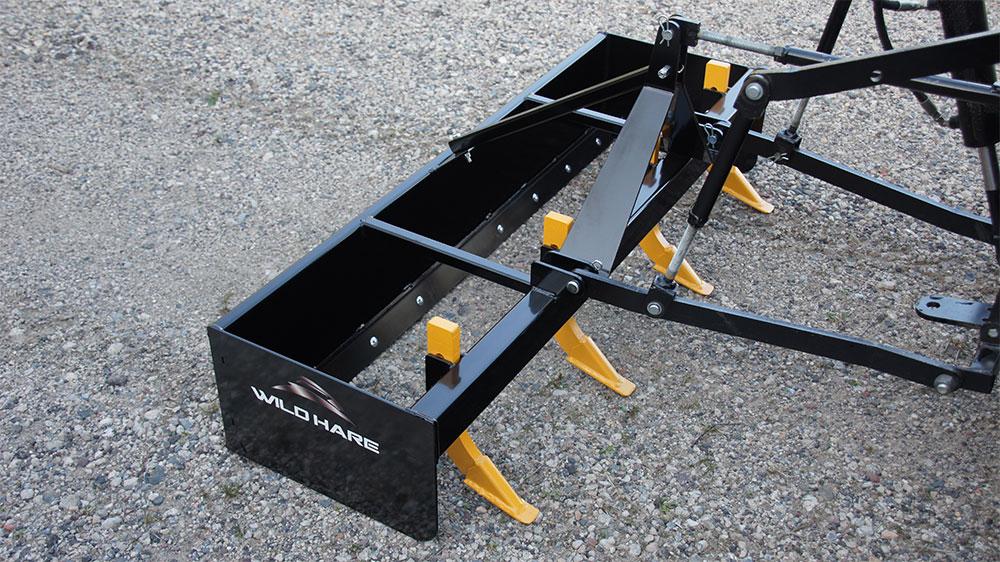 Atv Box Blade Attachment Hydraulic Atv Grading Accessories
