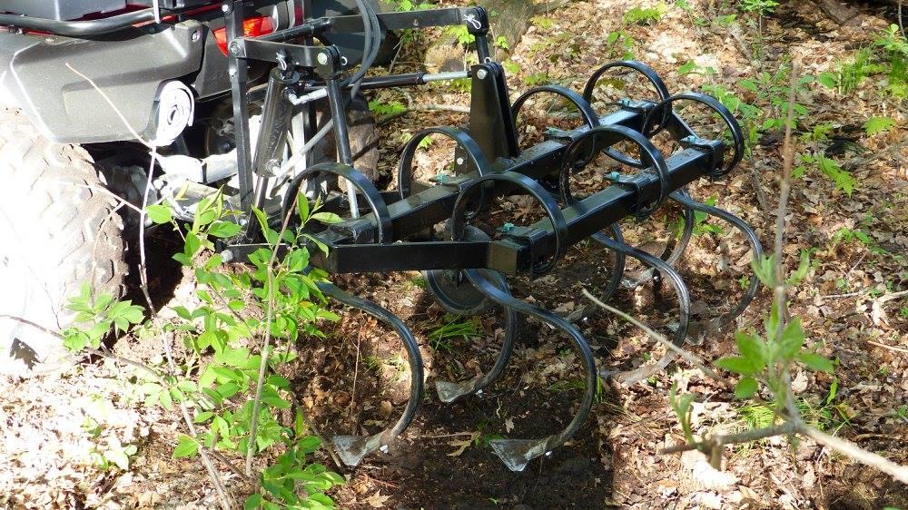 ATV Cultivator Attachment