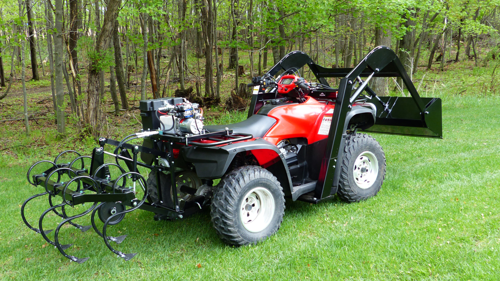 ATV Hydraulic Accessories from Wild Hare Manufacturing