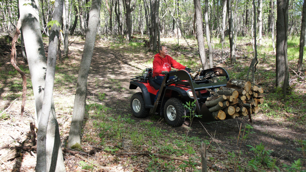 Uses for Hydraulic ATV Front End Loader