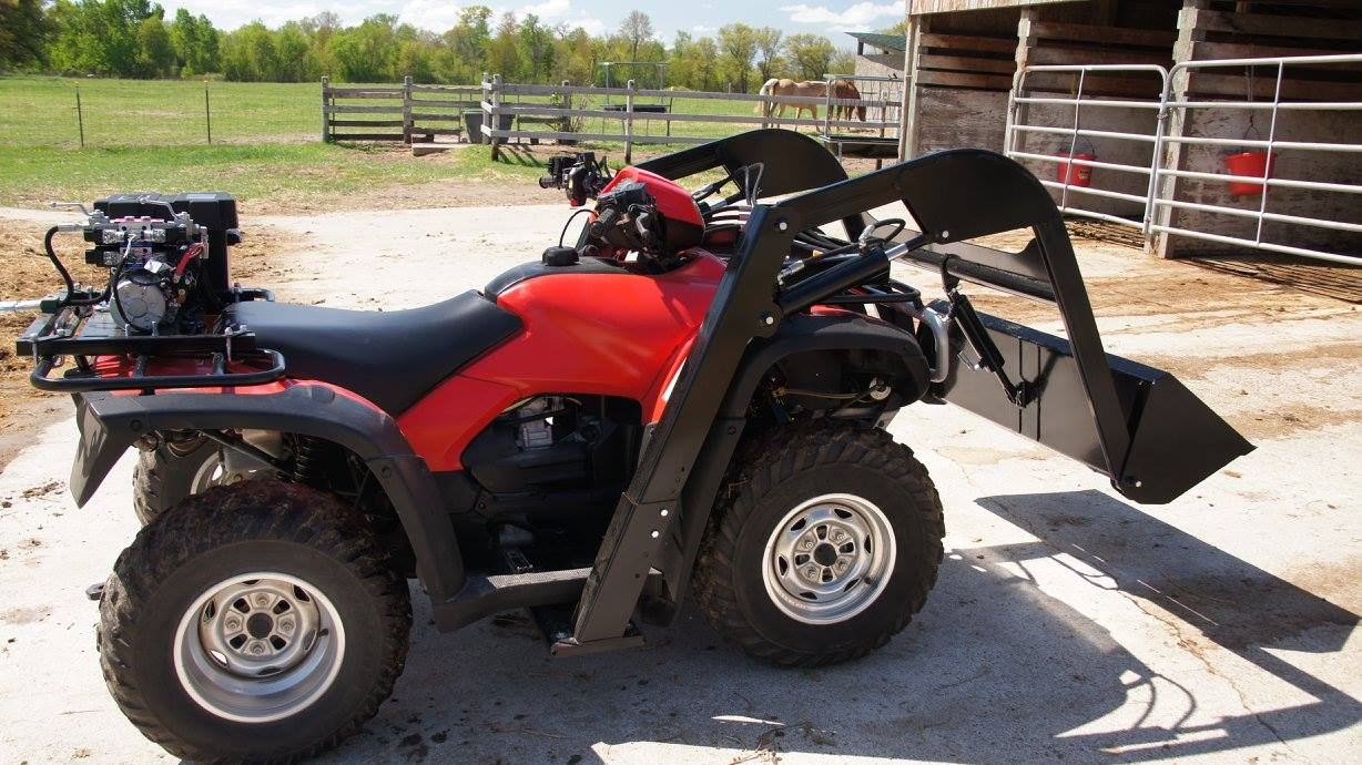 Front End Loader for an ATV