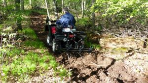 Heavy Duty ATV Rear Mount Cultivator
