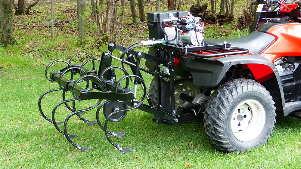 Four Wheeler Hydraulics : Hunter hydraulic atv accessory package system