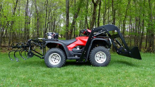 Hydraulic ATV Attachments-Implements