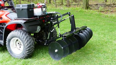 Hydraulic-ATV-Disc-Harrow-Attachment