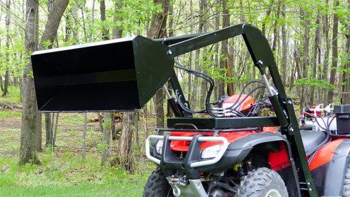 Hydraulic-ATV-Front-Loader-Attachment-2
