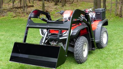 Hydraulic-ATV-Front-Loader-Attachment