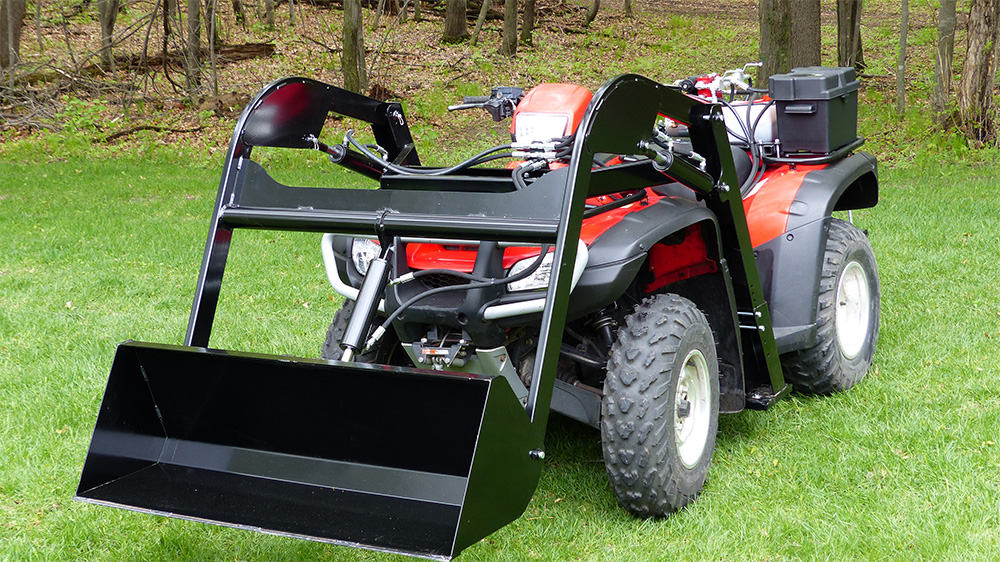 Atv Front Loader Hydraulic Front End Atv Attachment