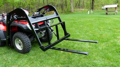 Hydraulic-ATV-Pallet-Forks-Attachment