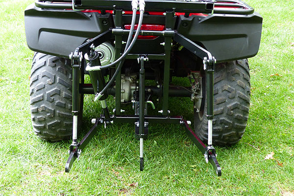 Hydraulic Powered 3 Point Hitch For Rear ATV Attachments