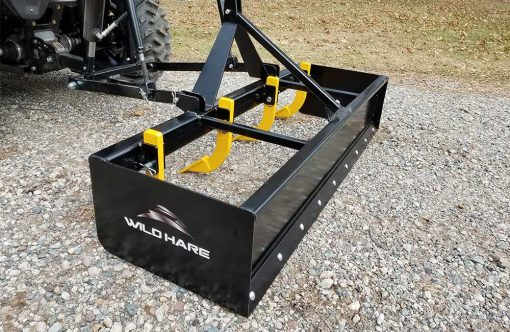 Hydraulic Powered Box Grader ATV Attachment Product Image 2