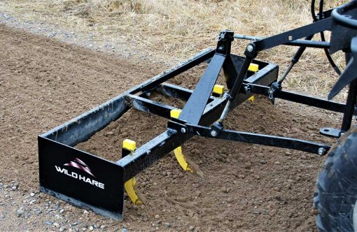 Hydraulic Powered Box Grader ATV Attachment Product Image 3