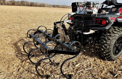 Hydraulic Powered Cultivator ATV Attachment Product Image