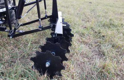 Hydraulic Powered Disc Harrow ATV Attachment Product Image 1