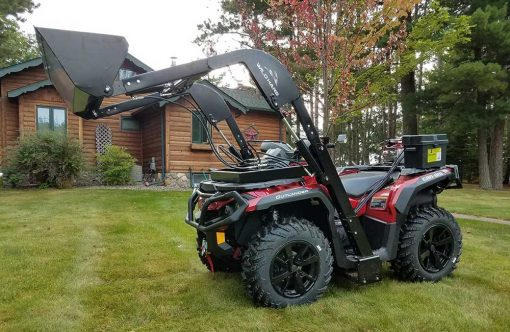 Hydraulic Powered Front Loader ATV Attachment Product Image 1
