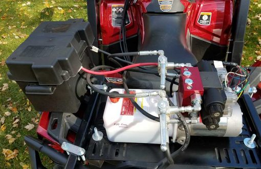 Hydraulic Powered Front Loader ATV Attachment Product Image 2