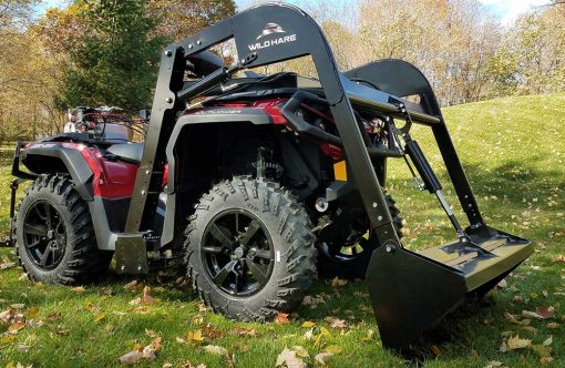 Hydraulic Powered Front Loader ATV Attachment Product Image 4