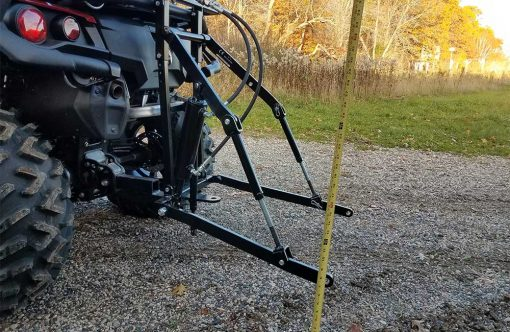 Hydraulic Powered Rear 3 Point Hitch Add On Unit Product Image 2