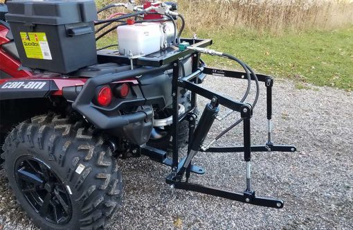Hydraulic Powered Rear 3 Point Hitch Stand Alone Unit Product Image 1