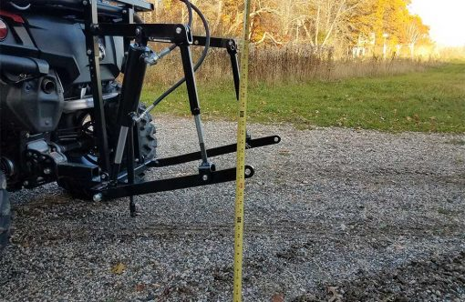 Hydraulic Powered Rear 3 Point Hitch Stand Alone Unit Product Image 4