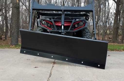 Hydraulic Powered Snow Plow ATV Attachment Product Image 2