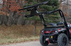 Hydraulic Powered Snow Plow ATV Attachment Product Image 4