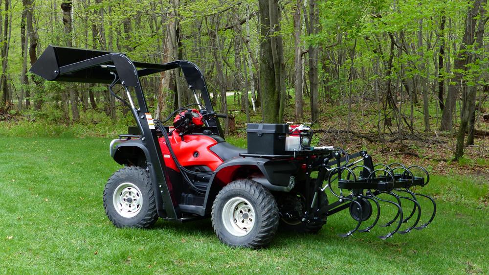 Atv Attachments Vs Tractor