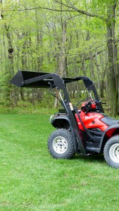 Front End Loader for ATV