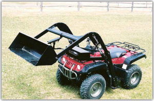 Hydraulic ATV Attachment