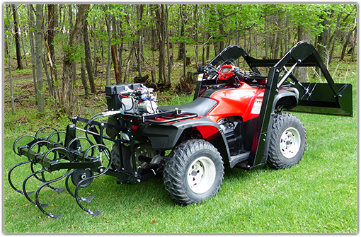 Hydraulic ATV Attachments