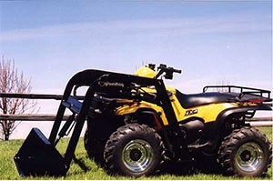 ATV Front End Loader Attachment - Groundhog ATV Equipment