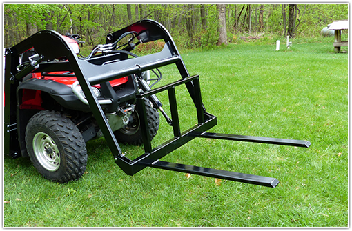 Hydraulic ATV Fork Attachment