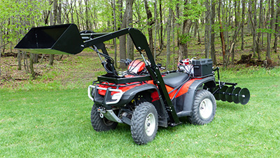 ATV Front End Loader Hydraulic ATV Attachments ATV Equipment
