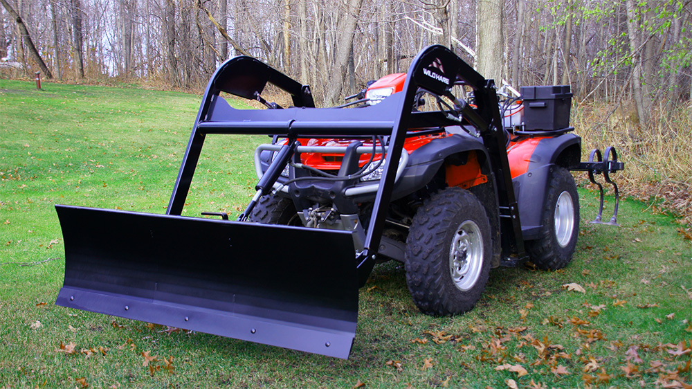 Atv Snow Plow Attachment Hydraulic Atv Plowing Accessories