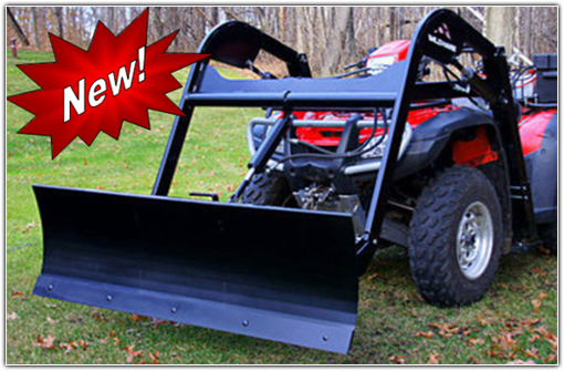 Hydraulic ATV Snow Plow Attachment