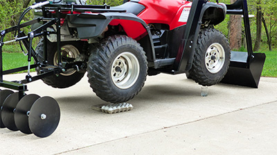 Hydraulic ATV Accessories, Equipment, & Attachments