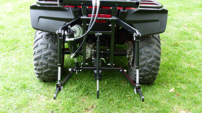 Rear Mounted Category 0 Hydraulic ATV Three Point Hitch