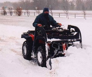 Groundhog ATV Plowing Attachment
